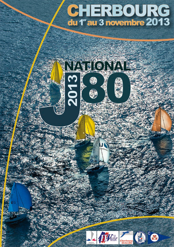 Affiche National J80 Cherbourg 2013